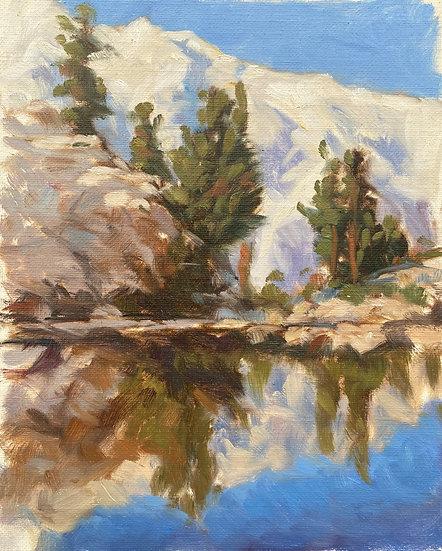 Lone pine Lake, Eastern Sierras