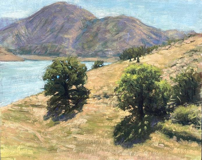 Lake Piru looking East