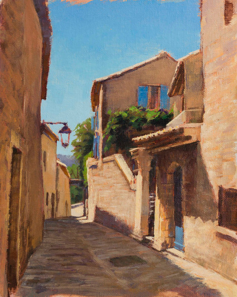 Street in LaCoste, Provence