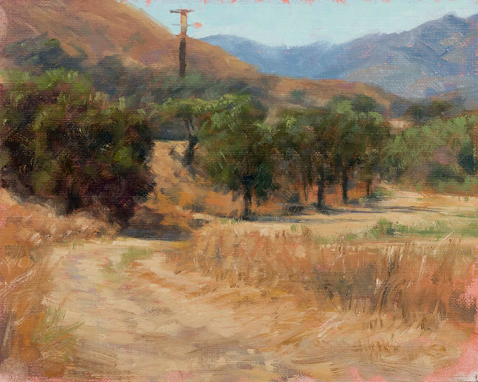 Hazy morning by Paramount Ranch