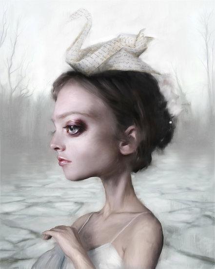 'Ice lake Swan'