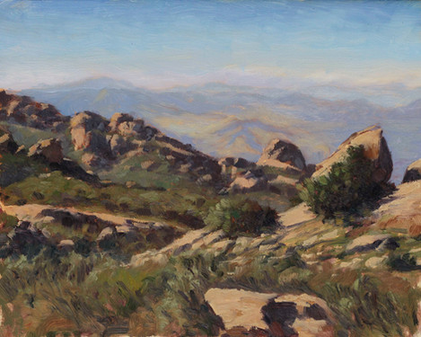 Rocky Peak looking West
