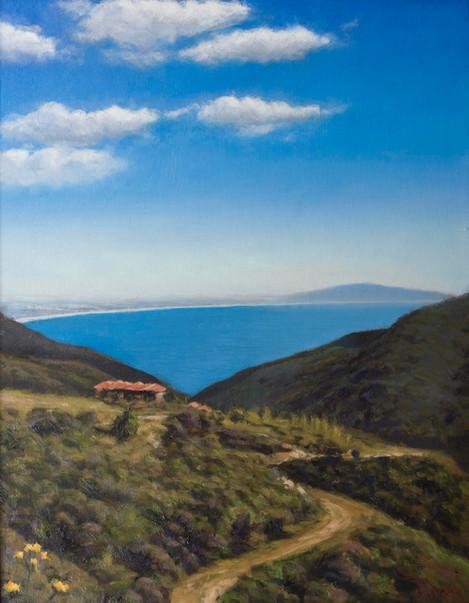 Santa Monica Bay from Malibu