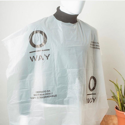 Oway Biodegradable Cutting Capes
