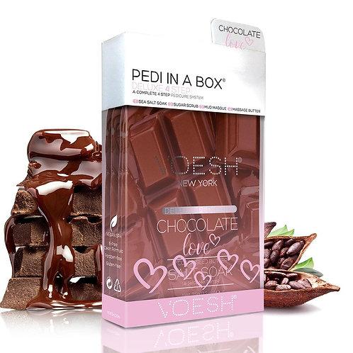 Chocolate Love Pedi in a Box