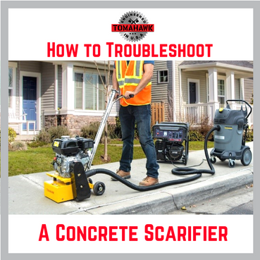 Troubleshooting a Concrete Scarifier