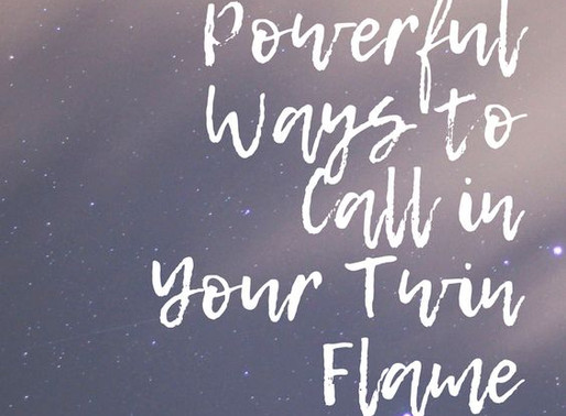 11 Powerful Ways to Call in Your Twin Flame