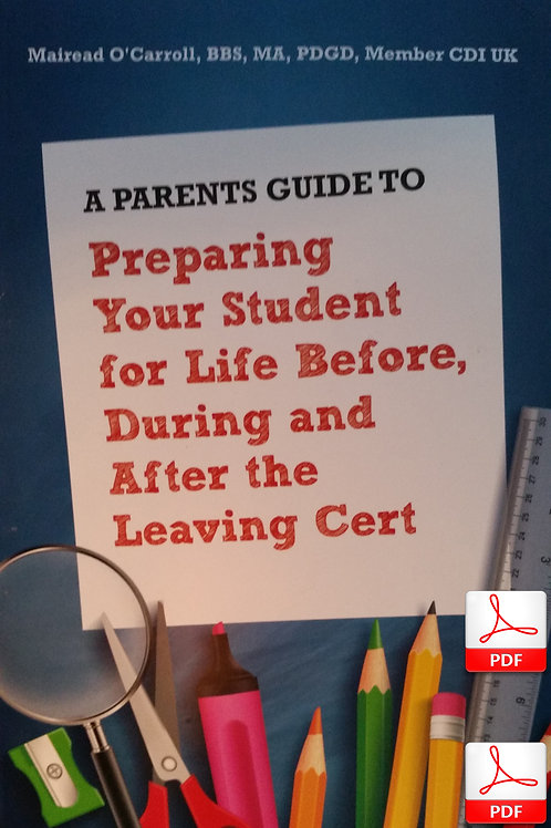 A Parents Guide to the Leaving Cert