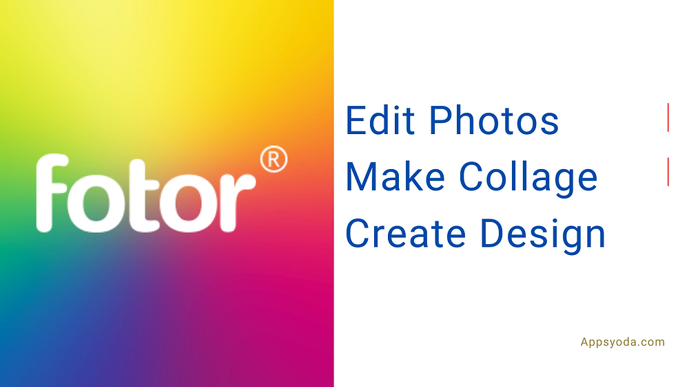 Fotor Used for free online photo editing