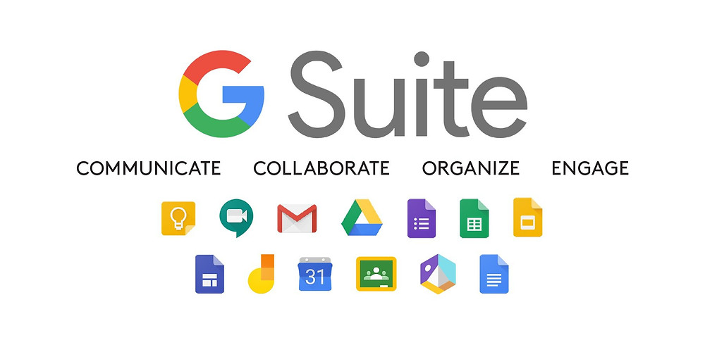 G Suite Used for Best communication and collaboration tools package for small businesses