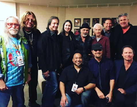 Aja Vu Concert at Luther Burbank Center for the Arts with original members of Chicago and The Doors including Norman Greenbaum, Marc Bonilla and Robby Krieger.