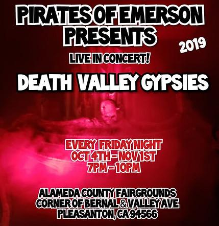 Pirates of Emerson Halloween Event Starts Oct 4th thru Nov. 1st