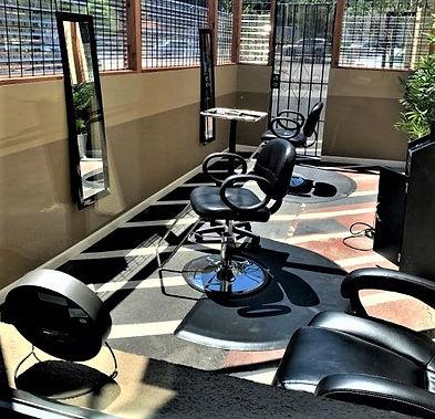 Salon Maddison Mill Valley opens outdoor salon service.