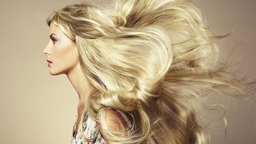 Hair Model Image
