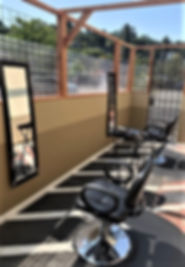 Salon Maddison opens outdoor service.