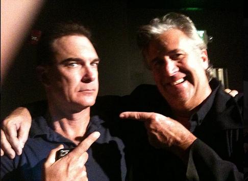"Backstage with Patrick Warburton, AKA Seinfeld's ""Puddy""."