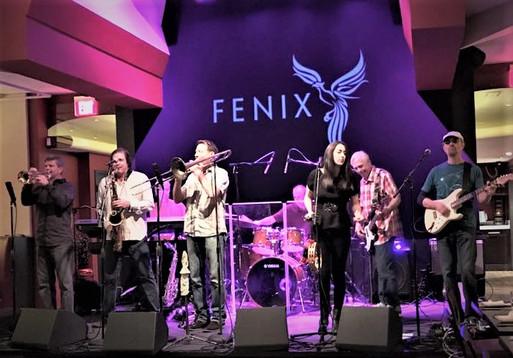Live at The Fenix, San Rafael CA with Aja Vu.