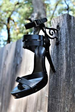Black Ankle Straps