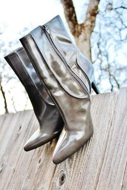 Closet Rock Grey Boots