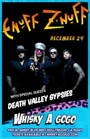 Enuff Z'Nuff with Death Valley Gypsies