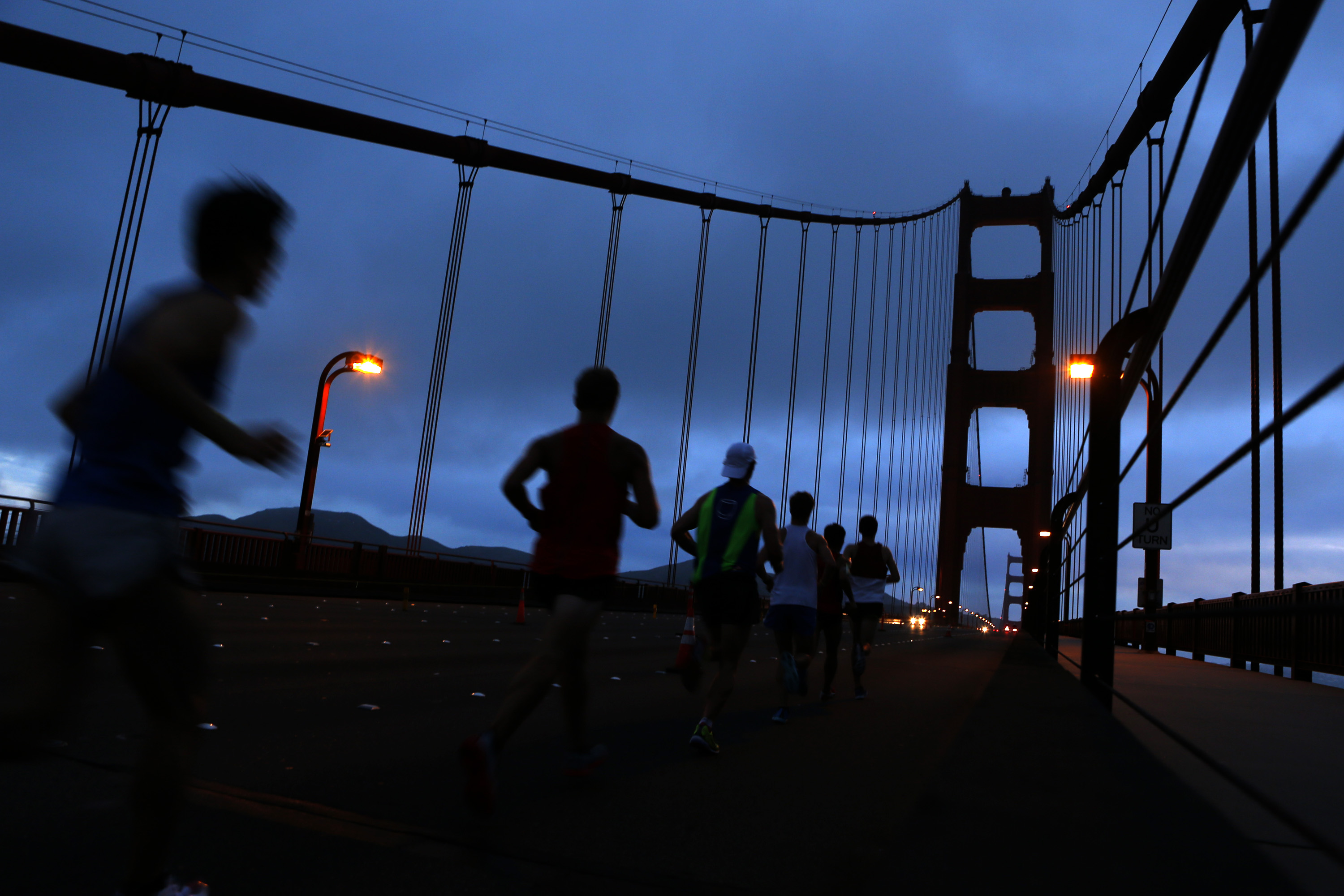 SF Marathon GG Bridge