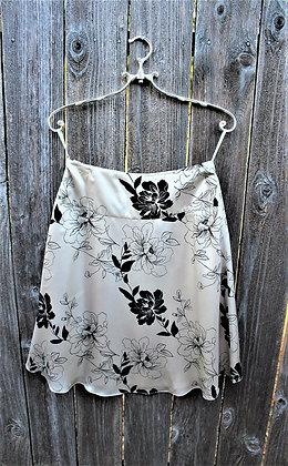 Satin Rose Skirt