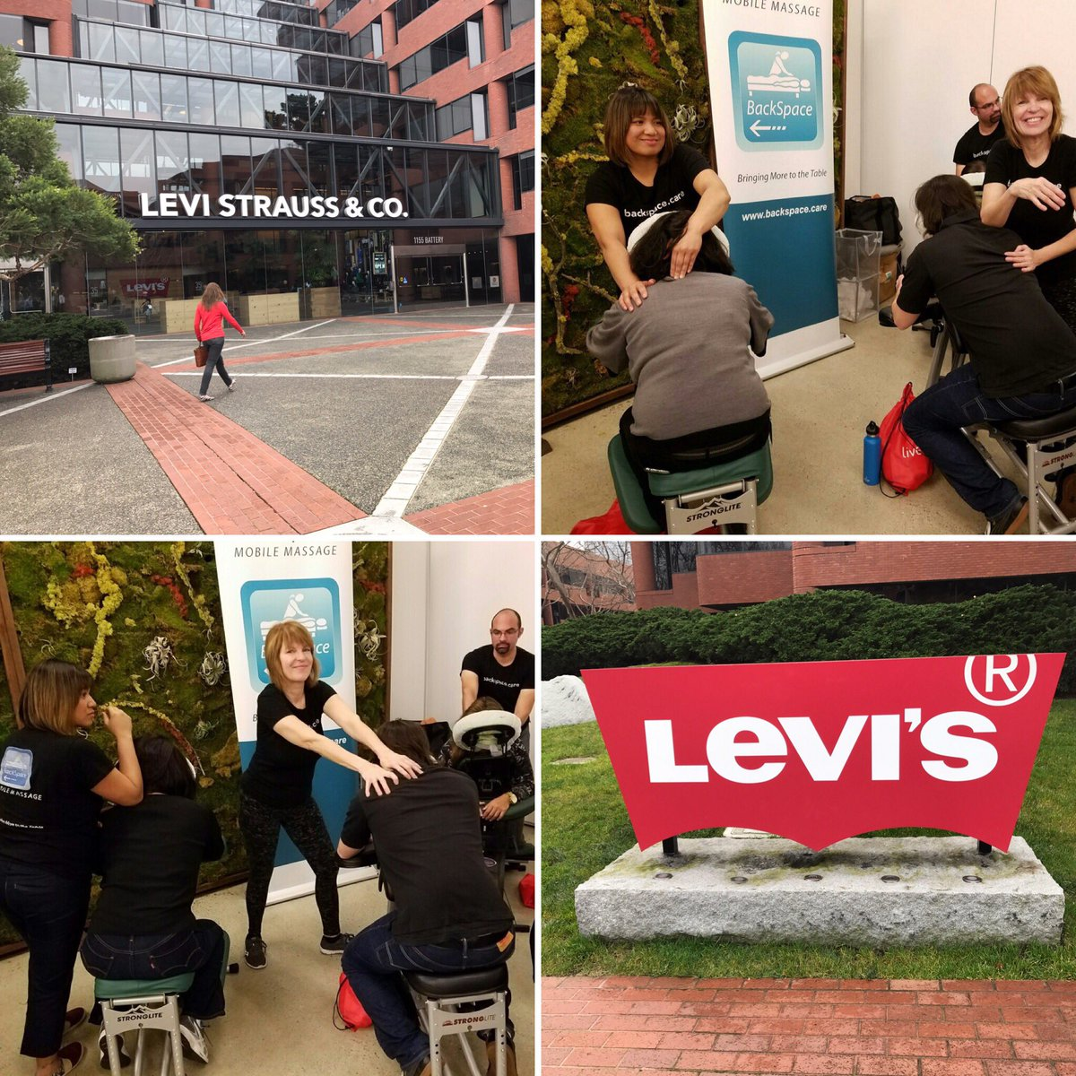 Levi's Employee Health Fair