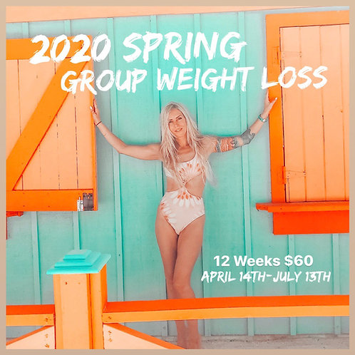 Spring Weight Loss Group April 14th - July 13th