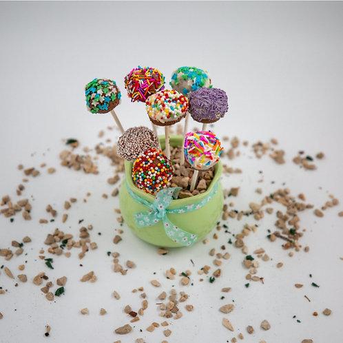 סוכריות טראפלס על מקל 8 יחידות