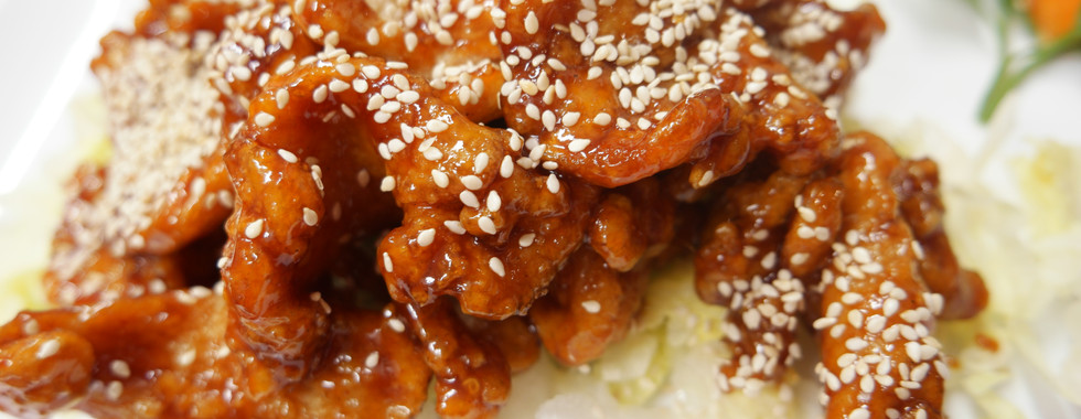 nr. 4 Kycklingfilé a la Minh special