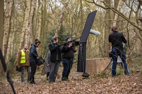 Filming Lepidopterist