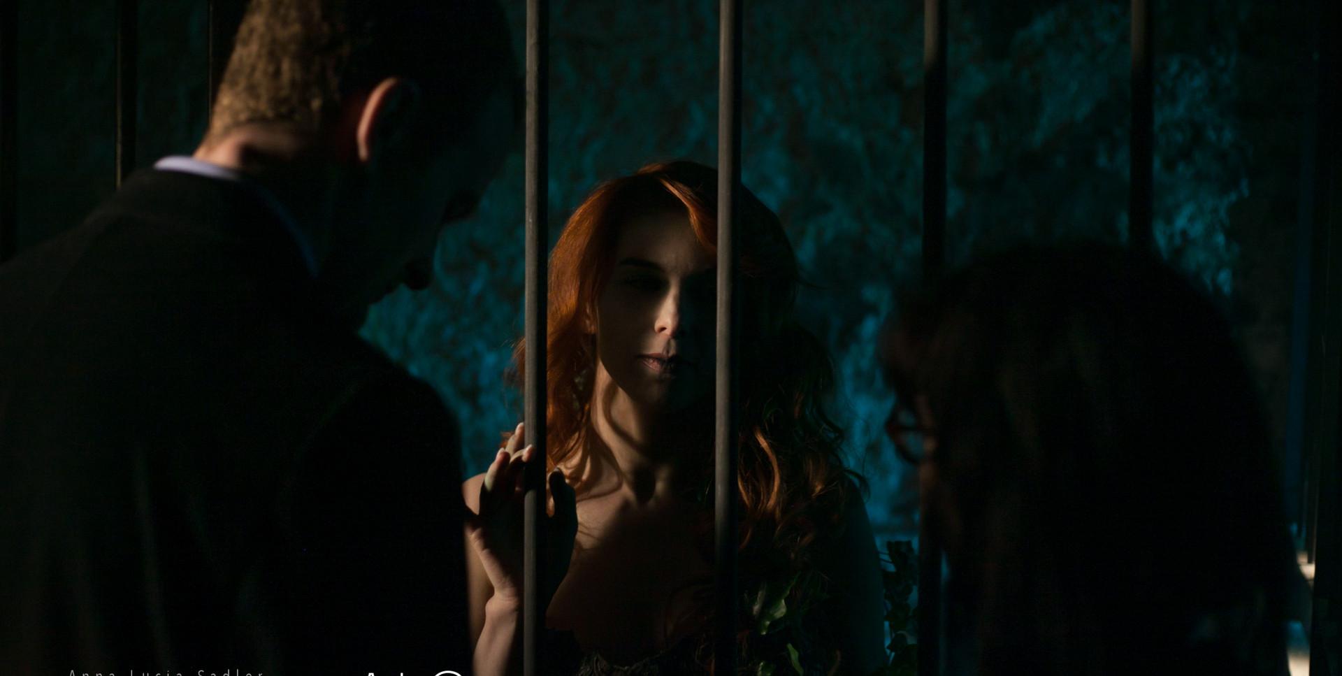 Robert Dukes & Aislinn De'Ath with director Sophie Black