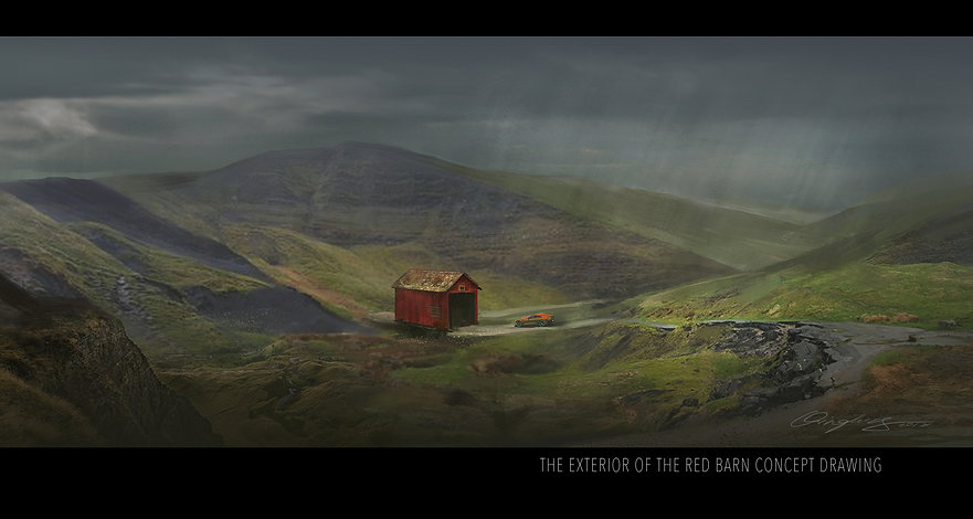 The exterior of red barn signed.jpg