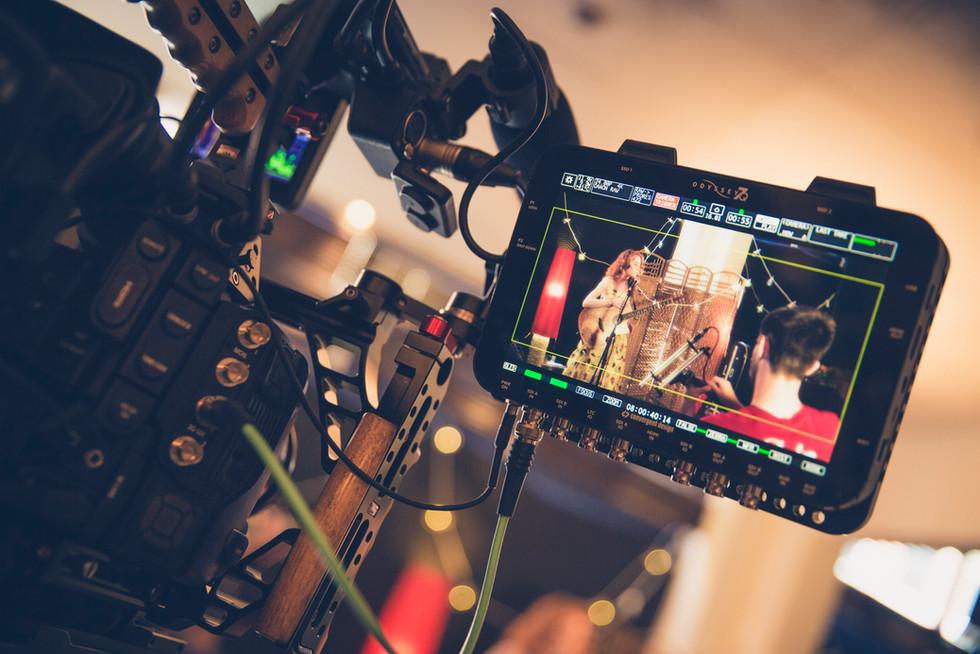 Filming Songbird