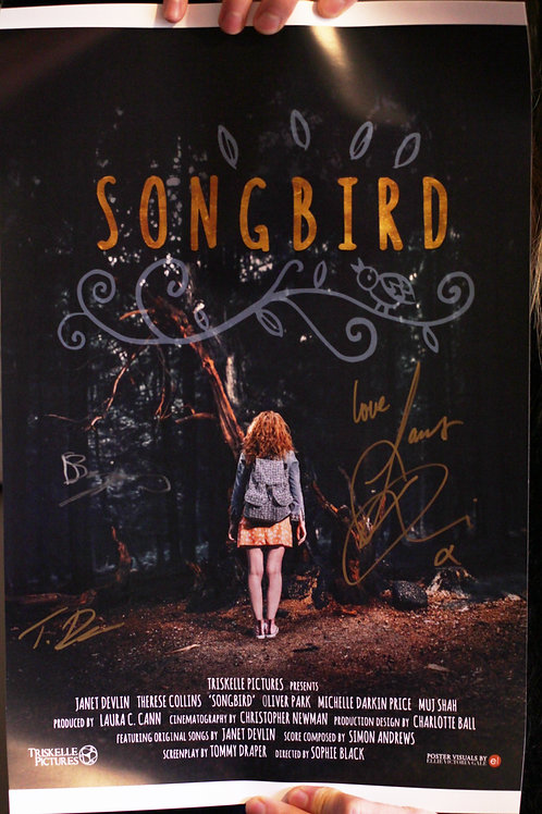 SONGBIRD (2017) - Signed Poster