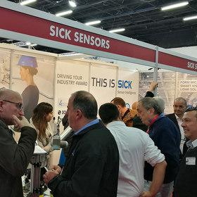SICKsensors_MOTION & CONTROL 2019 exhibi