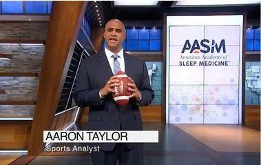 The American Academy of Sleep Medicine and former NFL Lineman Sack OSA.