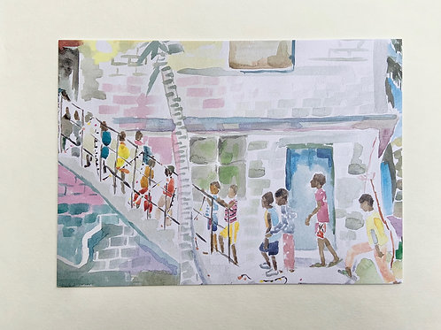 Larkin Peters Haitian Print