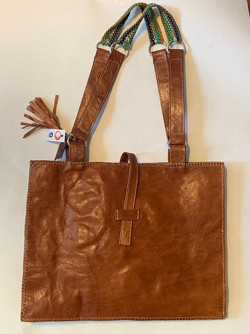 Tan Goat Leather Tote