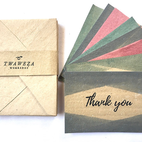 """8 Pack of """"Thank You"""" cards"""
