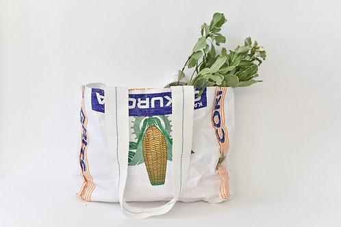 Upcycled Bag- Corn Meal