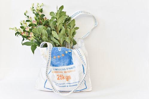Upcycled Bag -Sugar Gingham