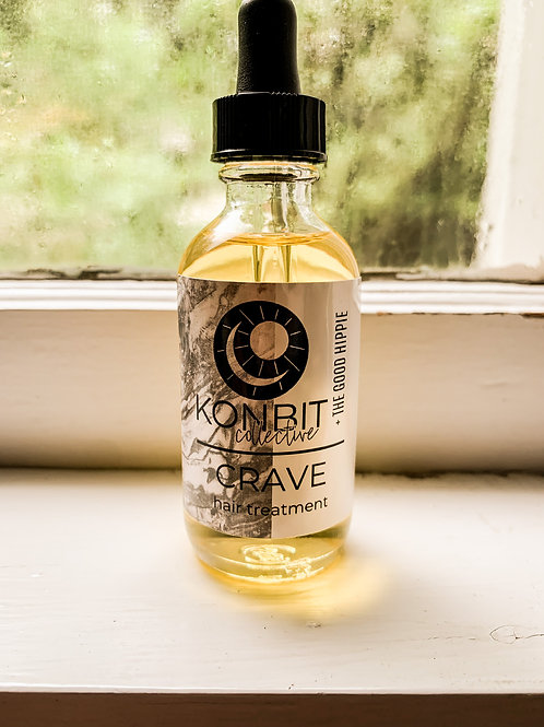 The Good Hippie + Konbit Collective Crave Hair Treatment