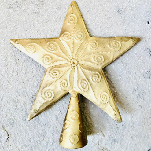 Gold Tree Topper-Preorder