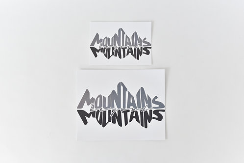 Proverb Print: Mountains Beyond Mountains