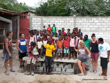 Latrine in Haiti