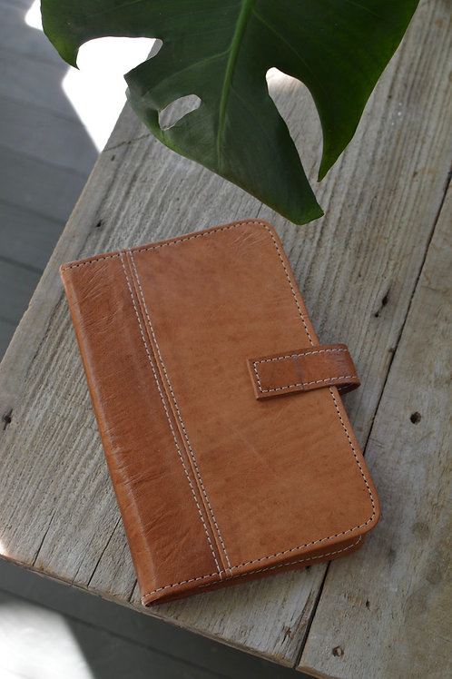 Leather Portfolio with Notepad