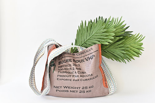 Upcycled Bag-Brown Sugar