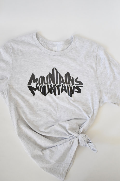 Proverb Tee: Mountains Beyond Mountains