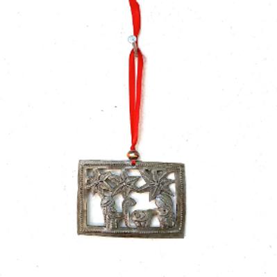 Rectangle Nativity Ornament- Preorder